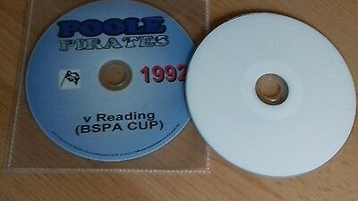 1992 Poole V Reading Bspa Cup Final Both Legs  Speedway Dvds