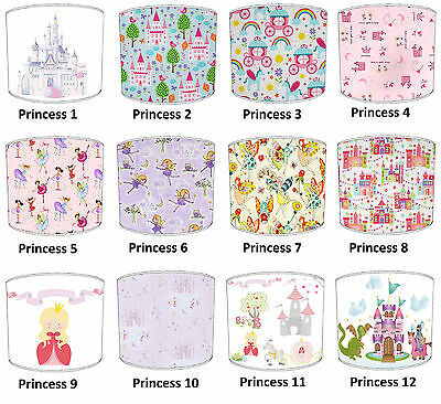 Fairy Castle Lampshades Ideal To Match Princess Fairy Castle Quilts & Bedspreads