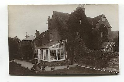 Unidentified - Blackwell - Studlands - large house - 1907 used RP postcard