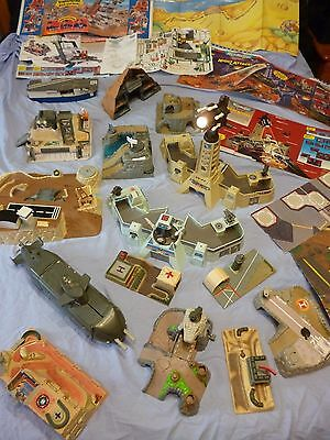 MICRO MACHINES MILITARY BATTLE ZONES RARE USED PLAYSETS 1990's
