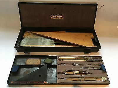 Vintage Cary Porter Drawing/Drafting/Architectural Instrument set