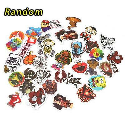 25/50/100x Random Stickers Vinyl Skateboard Guitar Travel Case Sticker Decal LG