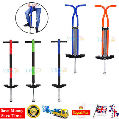 Pogo Stick Jump Spring Stick BOUNCE Kids Outdoor Toy Exercise Balance Training A