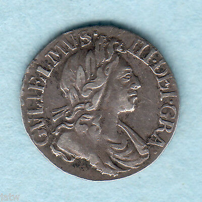 Great Britain. 1700 - William 111 Penny.  gVF/VF