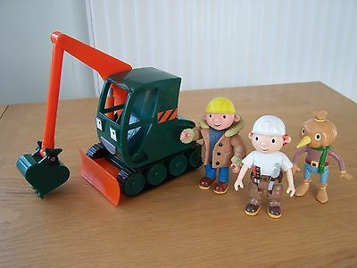 Bob The Builder Rare Grabber + Figs (3 Bob Items Can Be Posted For 1 Post Cost)