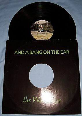 """WATERBOYS"" - ""And A Bang On The Ear"" - 12"" single -VERY GOOD CONDITION 1989"