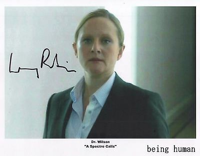 """Being Human Auto Photo Print Lucy Robinson """"Dr. Wilson"""""""