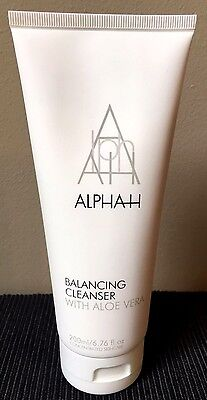 Alpha-H Balancing Cleanser With Aloe Vera - 200Ml Large - New - Fantastic!!!