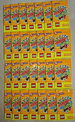 LEGO CREATE THE WORLD Trading cards 28 packs of 4 Sealed New FREE POST