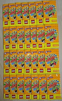 LEGO Create The World Trading cards 28 packs of 4 New FREE POST