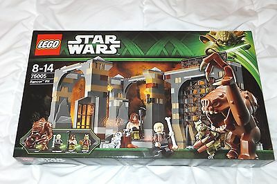 Lego Star Wars Rancor Pit 75005 - Retired 2013 set - NEW SEALED MINT