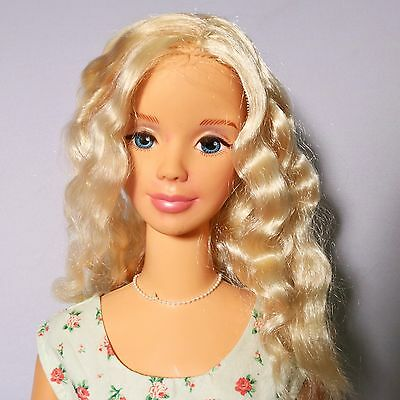 """My Size Mattel Barbie Doll 1992 38"""" Mexico Rooted Eyelashes"""