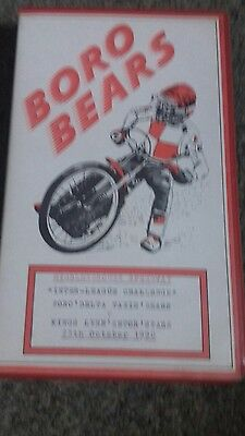 1990 MIDDLESBORO v KINGS LYNN  ORIGINAL SPEEDWAY VIDEO