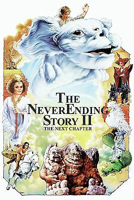 The Never Ending Story 2 Laminated Mini Movie Poster