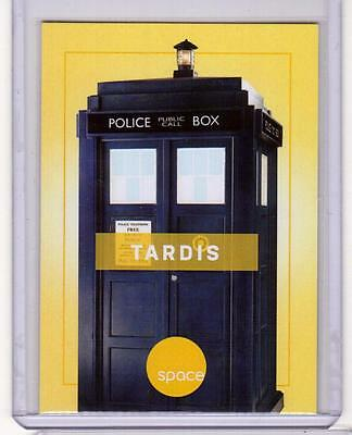 TARDIS Time Machine Lord Doctor Who SpaceDeck Space Channel Promo Card RARE SP