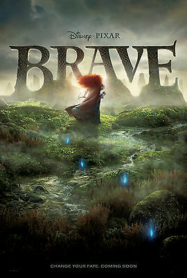 BRAVE LAMINATED MINI MOVIE POSTER DISNEY no 2