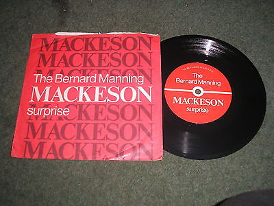 Bernard Manning Mackeson Surprise Great Comedy Promotional Disc