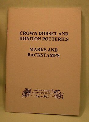 Crown Dorset and Honiton Potteries, Marks & Backstamps. New Copy