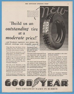 1928 Goodyear Automobile Car Tire vintage magazine print ad
