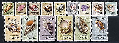 Kenya 1971 Sea  Shells Set M/mnh.                 A294