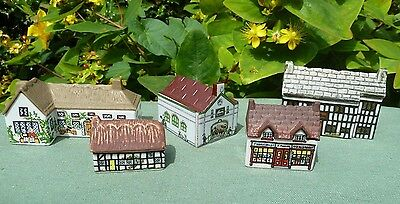 5 x Wade Whimsey-on-Why, Whimsey -in-the-Vale Houses