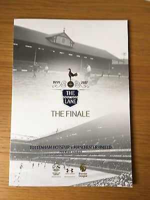TOTTENHAM HOTSPUR v MANCHESTER UNITED 2016/17 THE FINALE - LAST GAME AT THE LANE