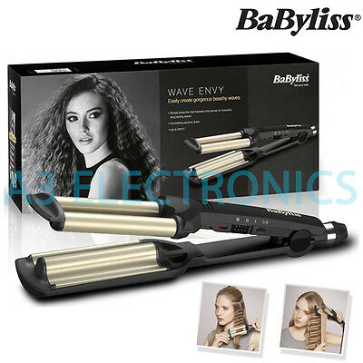Babyliss Womens Wave Envy Professional Ceramic Hair Styler Straightener - 2337U