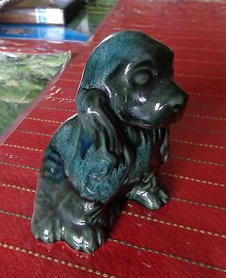 Wyatt Canadian Art Pottery Dog Figurine with Sticker
