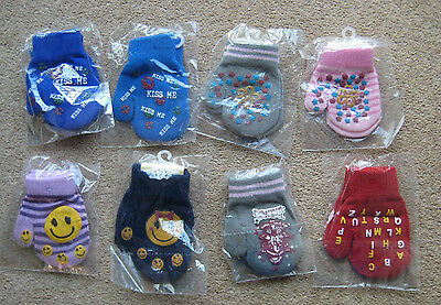 Girls Magic Gloves Mittens Gripper One Size Fits All Various Colours & Designs