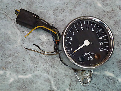 Rev Counter Tacho Clock R & R Sport Kit Car Motorbike Cafe Racer Project ????