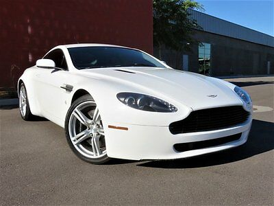 2007 Aston Martin Vantage Base Hatchback 2-Door 2007 Aston Martin Vantage V8 6-SPD Manual, Upgraded Wheels, Nav, Xenons, Wrapped