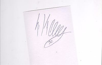 Rangers Liam Kelly HAND SIGNED card