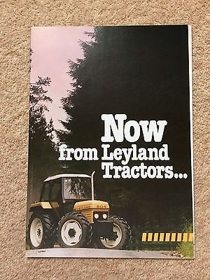 Tractor Leaflet Brochure Leyland Marshall Overview