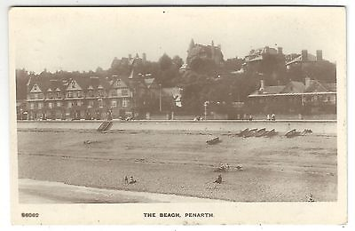 po wales welsh postcard penarth