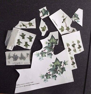Ceramic Decals - Ivy - Approx 20 (some trimmed)