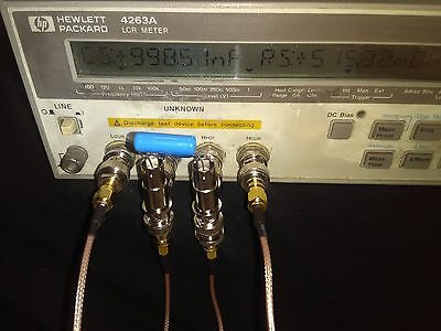 HP / Agilent 4263A LCR Meter  actual item pictures