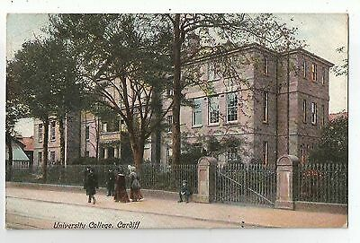 de wales welsh postcard university college cardiff