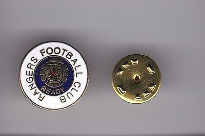 "Rangers "" Ready "" - lapel badge No.3 butterfly fitting"