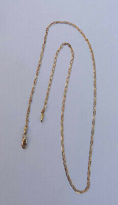 625e429c1abcf LADIES SMALL ANCHOR Chain Necklace w/ Claw Clasp - 14K Yellow Gold - 18.5  Inches