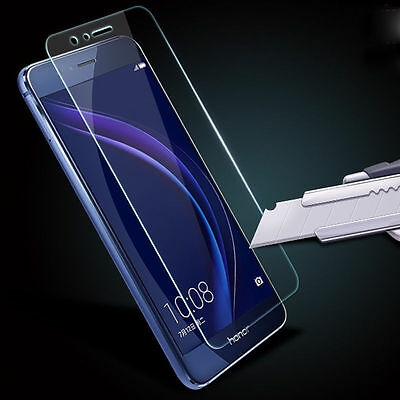 2 Packs Real Tempered Glass Film Screen Protector For Huawei P8/P9/P10Plus/Lite