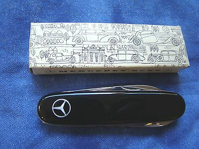 Mercedes- Benz Logo Pocket Knife INOX Solingen - Class Act! NEW IN ORIGINAL BOX!