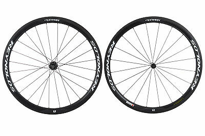 Reynolds Assault SLG Road Bike Wheel Set 700c Carbon Tubular Shimano 11 Speed