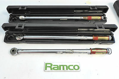 Lot Of 3x Norbar Torque Wrench's