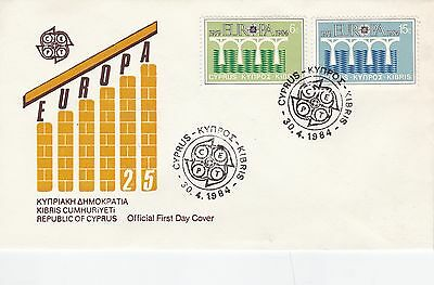 Cyprus 1984 Europa FDC Unadressed VGC