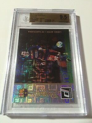 Bgs 9.5 2016 Donruss Soccer Picture Perfect Mosaic 12/15 Lionel Messi