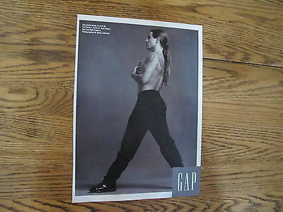 Gap Jeans Print Ad Clipping,anthony Kiedis 1992