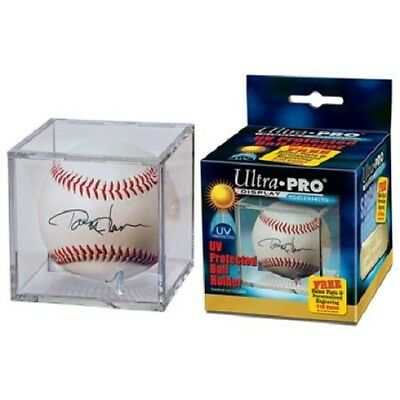 Ultra Pro UV Protected Baseball Cube Holder Display Case With Cradle - BRAND NEW