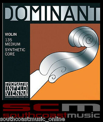 Thomastik-Infeld 1/2 Half Size Violin String Set Dt135 Dominant Ball End Strings