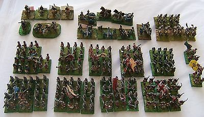 15mm  Napoleonic British  army for Waterloo well painted