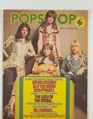 The Sweet Thin Lizzy David Cassidy Ron Wood Marc Bolan Slade POPSWOP magazine UK